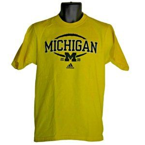 Men's adidas Michigan Wolverines T-Shirt Size S